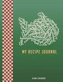 My Recipe Journal Blank Cookbook