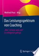 Das Leistungsspektrum von Coaching