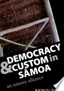 Democracy and Custom in S  moa Book PDF