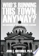Who S Running This Town Anyway  book