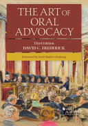 The Art Of Oral Advocacy