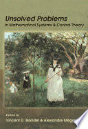 Unsolved Problems in Mathematical Systems and Control Theory Pdf/ePub eBook