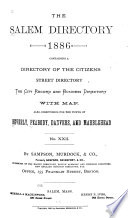 The Salem Directory