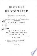 Oeuvres de Voltaire