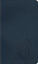 Kid's Thinline Bible-ESV-Slate Armor