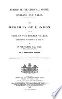The Geology of London and of Part of the Thames Valley