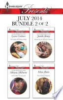 Harlequin Presents July 2014   Bundle 2 of 2