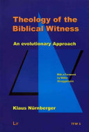 Theology of the Biblical Witness