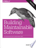 Building Maintainable Software C Edition