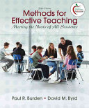 Methods For Effective Teaching