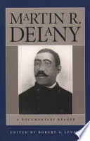 Martin R Delany book