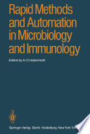 Rapid Methods And Automation In Microbiology And Immunology