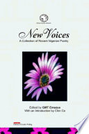 New Voices  A Collection of Recent Nigerian Poetry