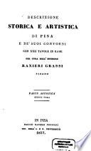 Descrizione storica e artistica di Pisa e de suoi Contorni