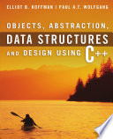 Objects  Abstraction  Data Structures and Design  Using C