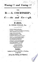 Wooing!! and Cooing!! or C-tte and Co-gh. A poem in reference to the contemplated marriage between the Princess Charlotte and Prince Leopold ... By Peter Pindar Esq. Second edition. MS. notes in pencil