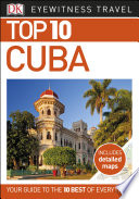 DK Eyewitness Top 10 Travel Guide Cuba
