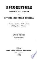 Ricoglitore italiano e straniero