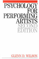 Psychology for performing artists