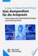 IGeL Kompendium f  r die Arztpraxis