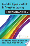 Reach the Highest Standard in Professional Learning  Learning Communities