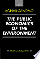 The Public Economics of the Environment