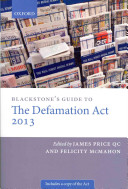 Blackstone s Guide to the Defamation Act