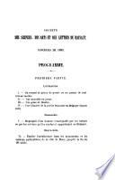 M  moires et publications de la Soci  t   des sciences  des arts et des lettres du Hainaut