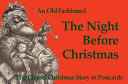 Old Fashioned Night Before Christmas Postcard Book