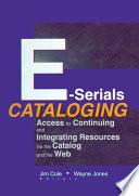 E Serials Cataloging