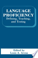 Language Proficiency : contains select, revised, and invited papers which deal...
