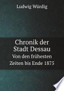Chronik der Stadt Dessau