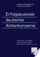 Erfolgsausweis deutscher Aktienkonzerne