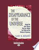 download ebook the disappearance of the universe pdf epub