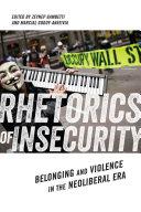 Rhetorics of Insecurity