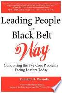 Leading People the Black Belt Way