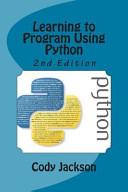Learning To Program Using Python
