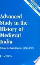 Advanced Study in the History of Medieval India