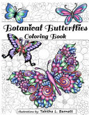 Botanical Butterflies Coloring Book : brought you yet another gorgeous coloring book for...