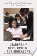 Leadership Development for Educators