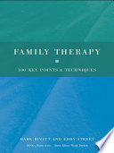 Family Therapy Evidence Based Psychotherapies In Contemporary Therapeutic Practice