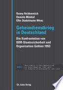 Geheimdienstkrieg in Deutschland