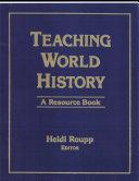 download ebook teaching world history pdf epub