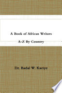 A Book of African Writers