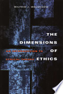 The Dimensions Of Ethics