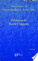 Présences de Pierre Chappuis