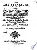 Der christenliche Luther