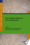 The Prophets Speak on Forced Migration