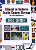 Manual on Uniform Traffic Control Devices  Inserts Only