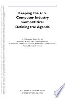 Keeping the U S  Computer Industry Competitive